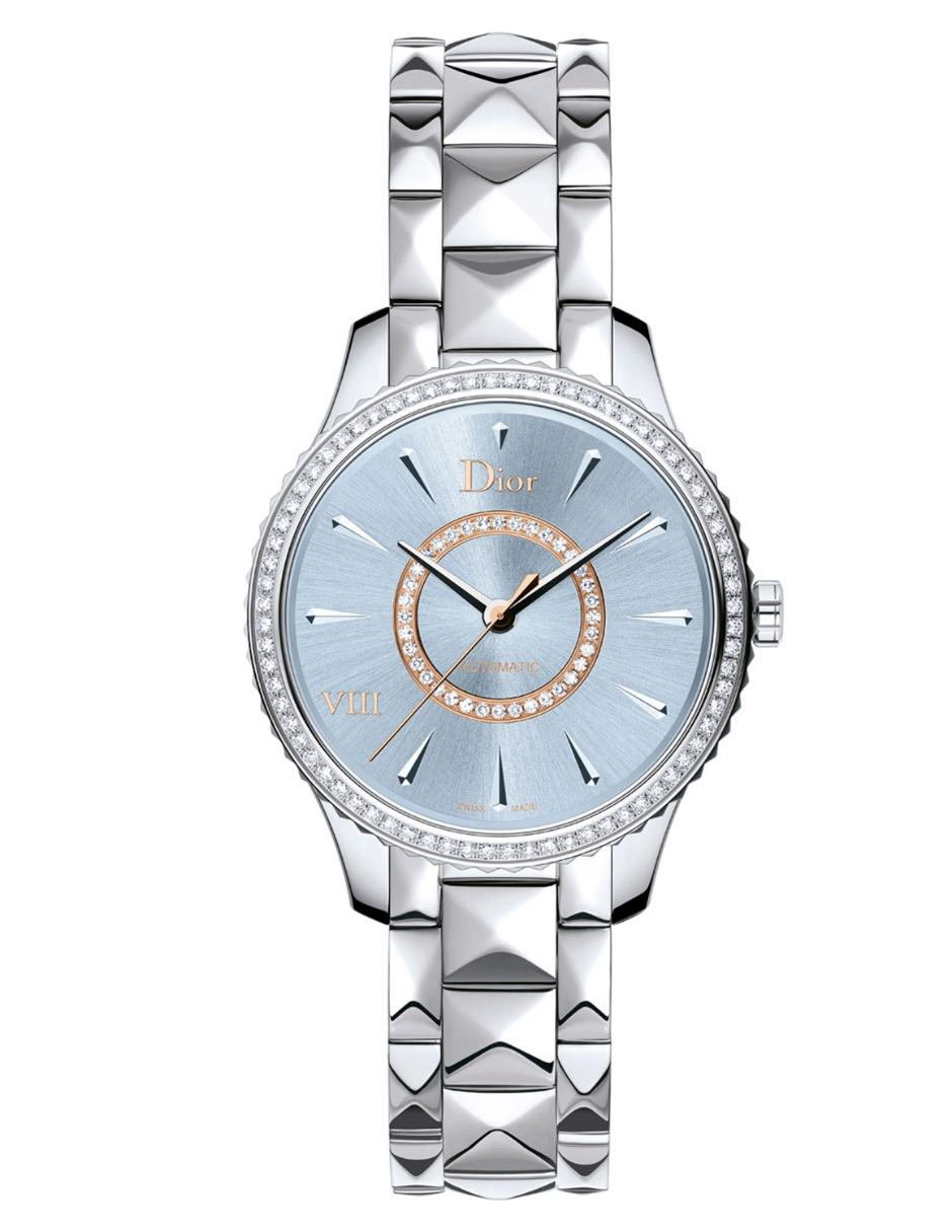 Dior dior viii montaigne cd153510m001 reloj para dama for Color gris acero