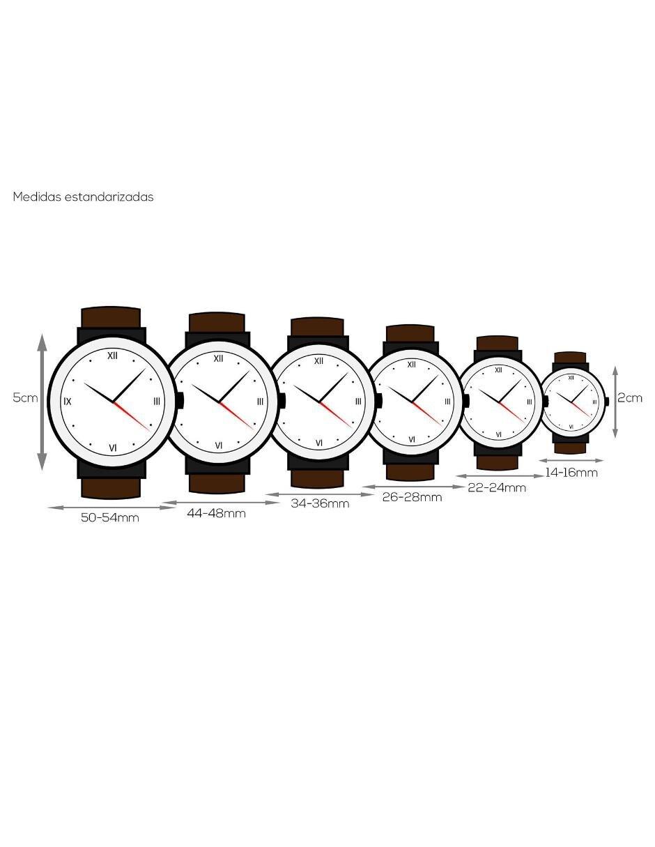 210 1133 Ulysse 3e3 Azul Marine Para Nardin Reloj Caballero