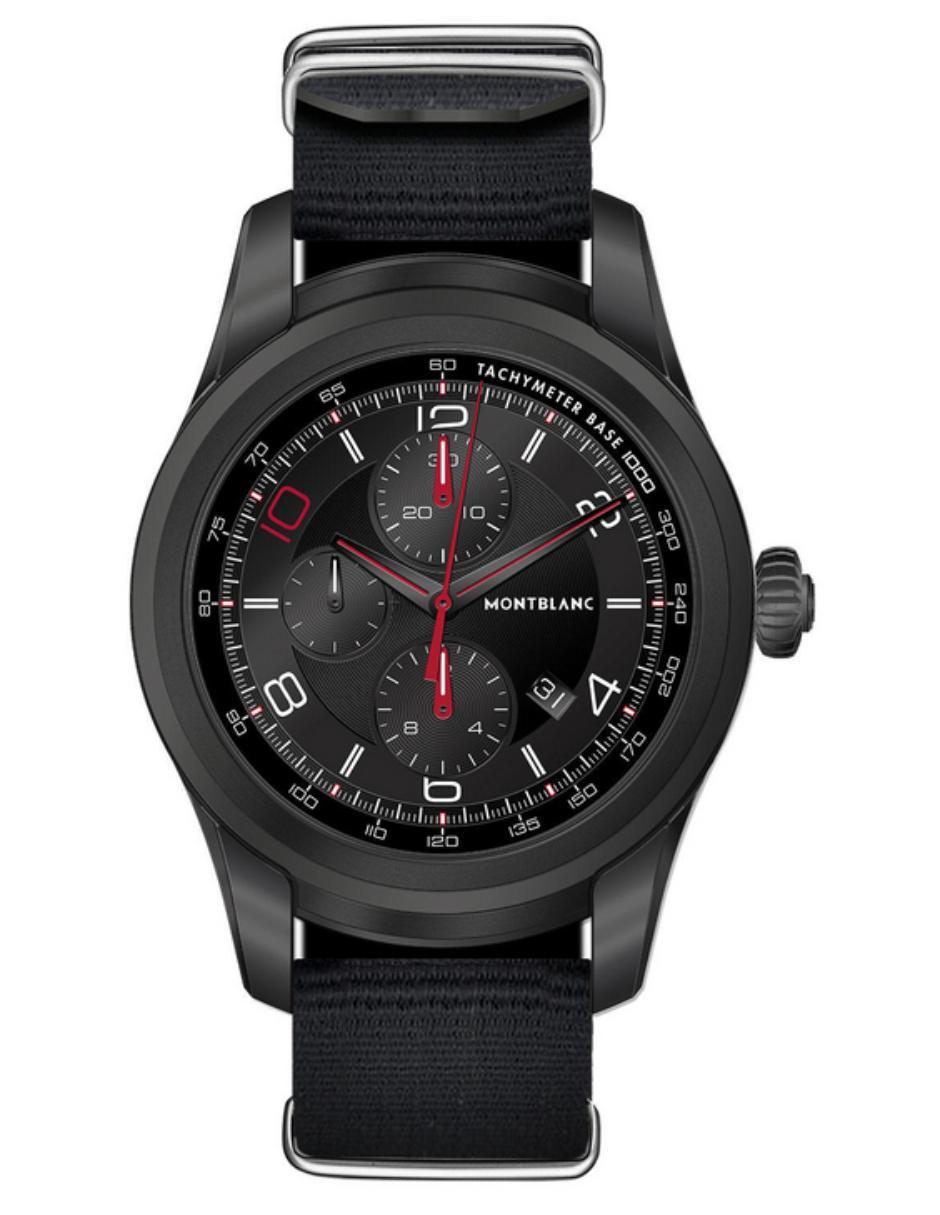 3d562297f230 Smartwatch para caballero Montblanc Summit Smartwatch 116243 negro